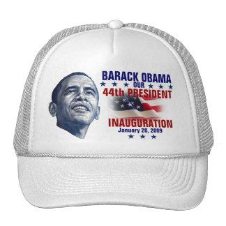 Inauguración de Obama Gorras De Camionero