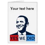 Inauguración de Obama hicimos sí Felicitaciones