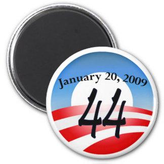 Inauguración de Obama Imán Redondo 5 Cm