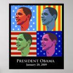 Inauguración de Obama Poster