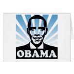 Inauguración de Obama Tarjeta