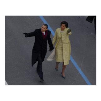 Inauguración de Obama Tarjetas Postales