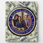 Inauguración de presidente Barack Obama Placas De Madera