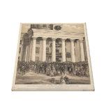 Inauguración de presidente Jefferson Davis de CSA Impresiones En Lona