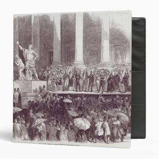 """Inauguración de presidente Polk: El juramento Carpeta 1 1/2"""""""