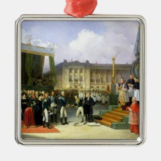 Inauguración de un monumento en la memoria Louis Ornatos