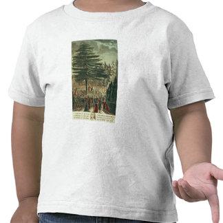 Inauguración del busto de Carl Linnaeus Camiseta