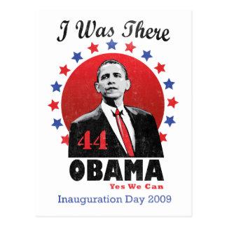 Inauguración Obama - 44.o presidente Postal