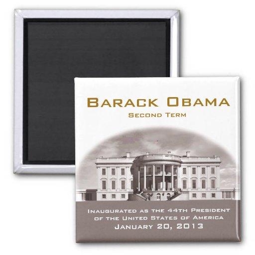 Inauguración presidencial 2013 imán cuadrado