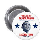 Inauguración presidencial 2013 pin