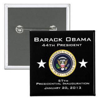 Inauguración presidencial 2013 pin cuadrada 5 cm