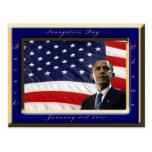 Inauguración presidencial de Barack Obama 2013 Postal