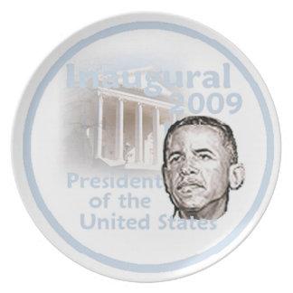 INAUGURAL 2009 Plate