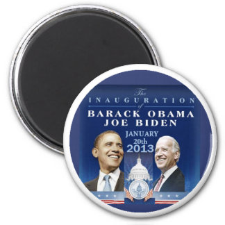 Inaugural 2013 2 inch round magnet