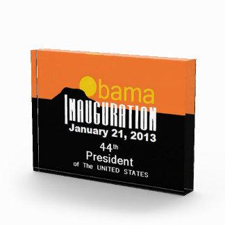 Inaugural 2013 acrylic award