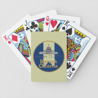 Inaugural 2013 bicycle playing cards