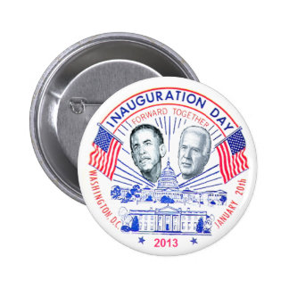 Inaugural 2013 pinback buttons