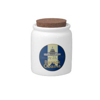 Inaugural 2013 candy jar