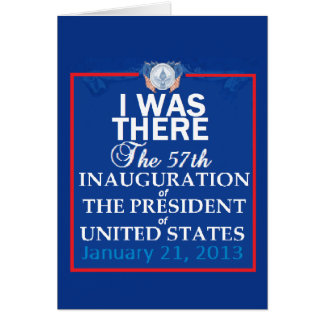 Inaugural 2013 card