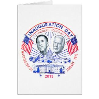 Inaugural 2013 greeting card