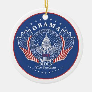 Inaugural 2013 ceramic ornament