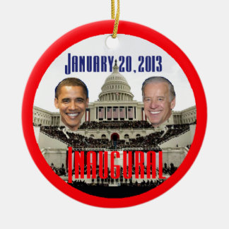 Inaugural 2013 ceramic ornament