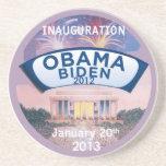 Inaugural 2013 drink coasters