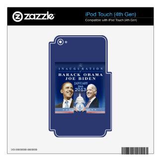 Inaugural 2013 iPod touch 4G skin
