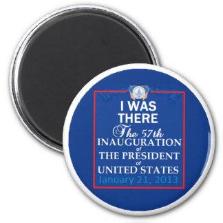 Inaugural 2013 refrigerator magnet