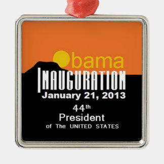 Inaugural 2013 metal ornament