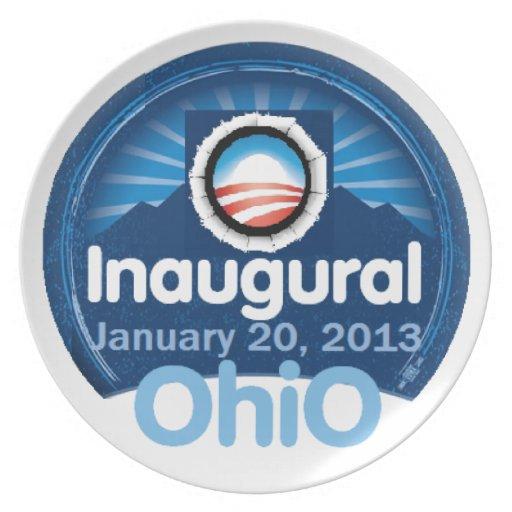 Inaugural 2013 plate