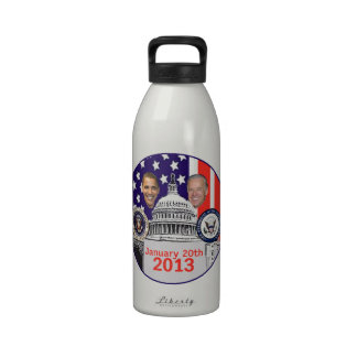 Inaugural 2013 reusable water bottle