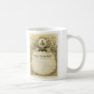 Inaugural Address of Abraham Lincoln March 4 1865 Classic White Coffee Mug