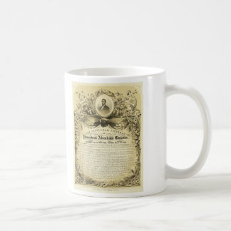 Inaugural Address of Abraham Lincoln March 4 1865 Coffee Mug