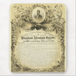 "Inaugural Address of Abraham Lincoln March 4 1865 Mouse Pad<br><div class=""desc"">The inaugural address of President Abraham Lincoln delivered in the national Capitol, March 4th, 1865 Image reproduction rights can be found in the link near the bottom of this description. Sign up to Mr. Rebates for FREE and save 12% on any zazzle order in addition to a $5.00 sign up...</div>"
