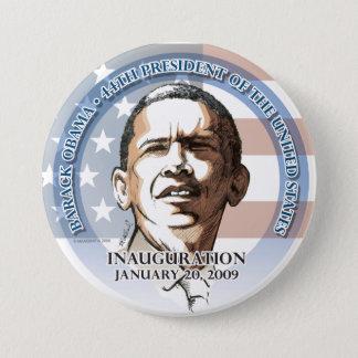 Inaugural Button, Barack Obama, Jan. 20, 2009 Pinback Button