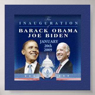Inaugural Capitol Poster