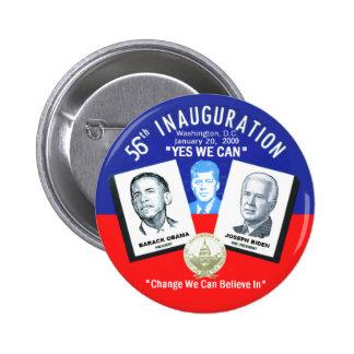Inaugural JFK Button