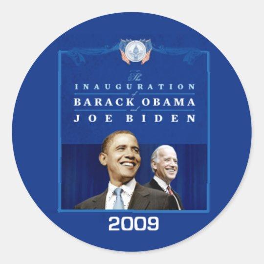 Inaugural Sticker