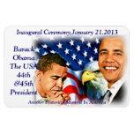 Inauguration2013, imán de Barack Obama_Premium Fle