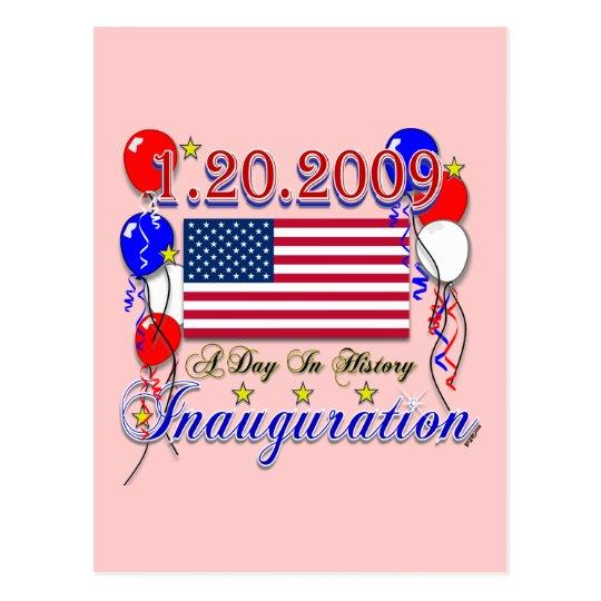 Inauguration 2009 Gifts and Inauguration Apparel Postcard