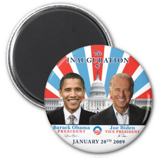 Inauguration 2009 refrigerator magnets