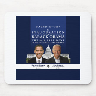 Inauguration 2009 mouse mat