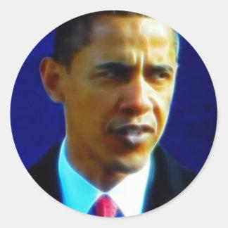 Inauguration Address, President Barack Obama Classic Round Sticker