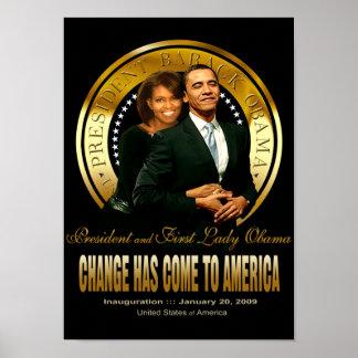 Inauguration - Change Poster