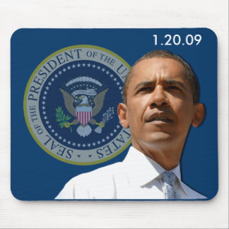 Inauguration Day 1 20 09 - Collector s Item Mouse Mat
