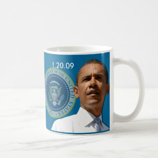 Inauguration Day 1.20.09 - Collector's Item! Classic White Coffee Mug