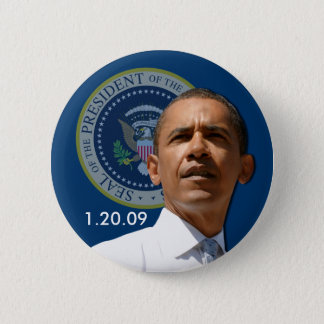 Inauguration Day 1.20.09 - Collector's Item! Pinback Button