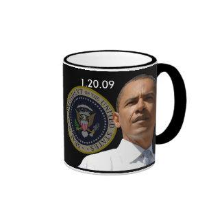 Inauguration Day 1.20.09 - Collector's Item! Ringer Mug