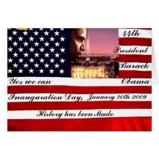 Inauguration Day 2009/Vision_ Card
